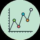 hospedaje web, hosting, Registros y estadísticas, Gráfica de ancho de banda